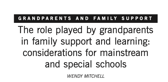 the-role-of-grandparents-in-learning - Grandparents in family support