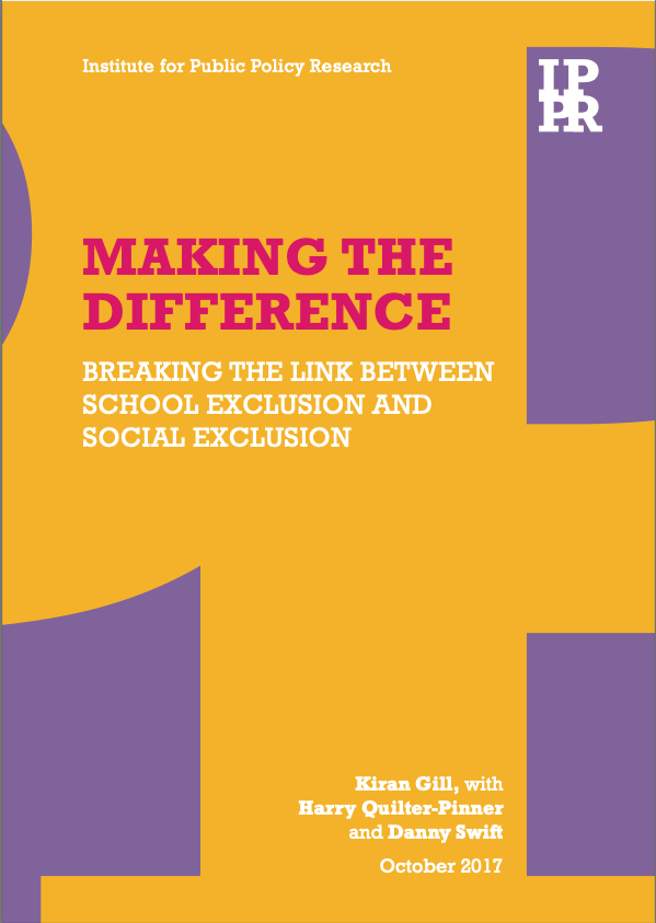 Making the Difference - Breaking the link between school exclusion and social exclusion - Physical Activity and Mental Health of School-Aged Children and Adolescents