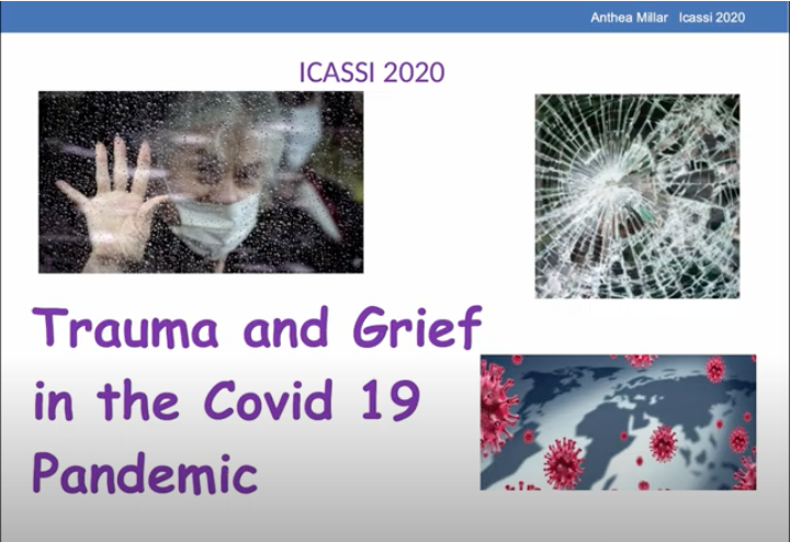 Trauma and Grief in the Covid 19 Pandemic - Anthea Turner - Trauma and Grief in the COVID-19 Pandemic
