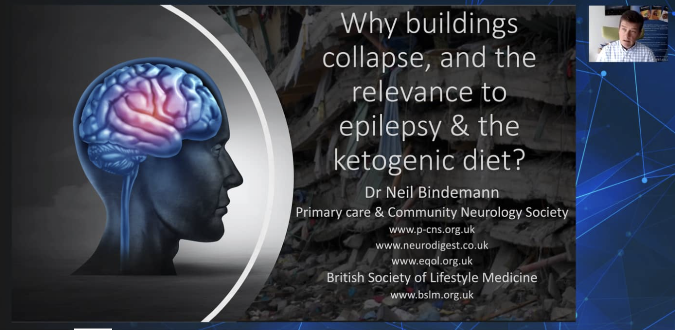 Why buildings collapse and the relevance to epilepsy and the ketogenic diet